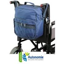 sac adaptable dos et fauteuil roulant