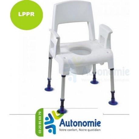 chaise perc e pour la douche pico commode. Black Bedroom Furniture Sets. Home Design Ideas