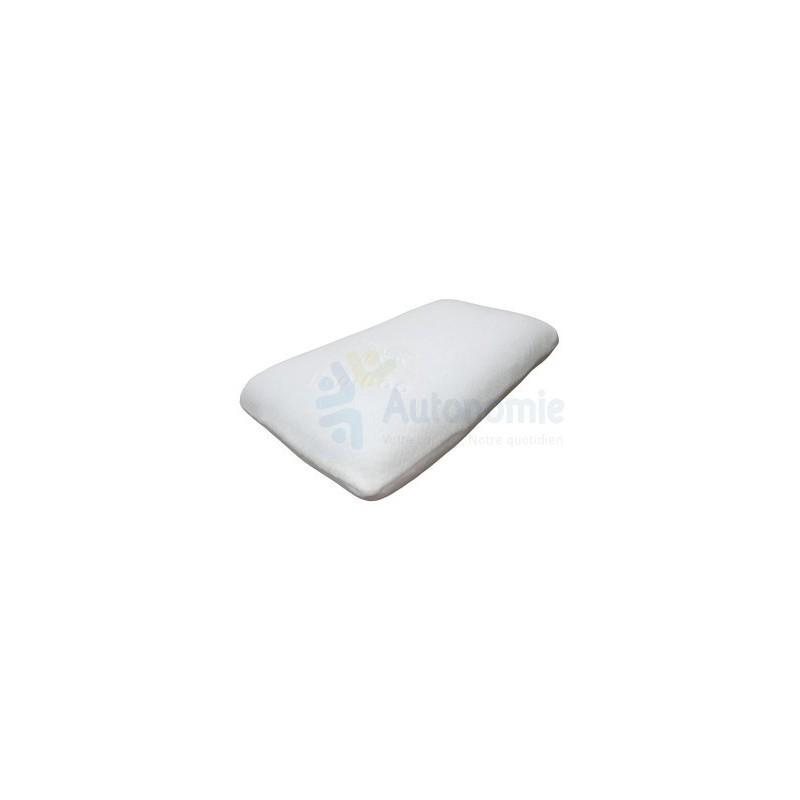 oreiller confort en mousse visco v getale m moire de forme. Black Bedroom Furniture Sets. Home Design Ideas