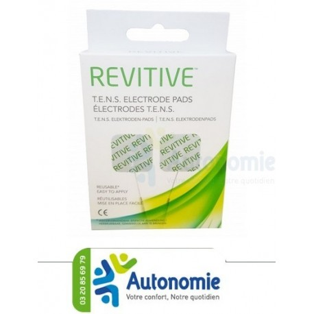 pack de 4 lectrodes pour stimulateur circulatoire revitive medic. Black Bedroom Furniture Sets. Home Design Ideas