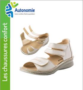 chaussures de confort prise en charge