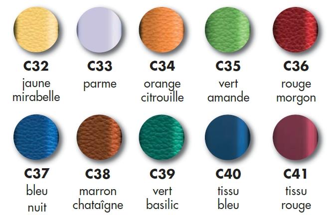 coloris fauteuils de repos vermeiren